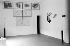GalerieSachse_Zeichnungenwand